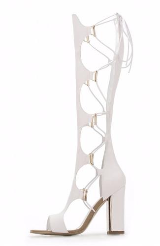zapatillas andrea botas romanas gladiador mod. 11071 sh+