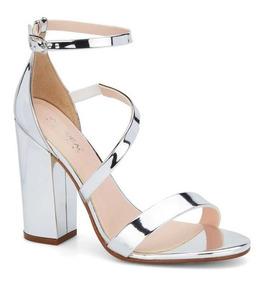 Sandalias En Plateadas Mercado Zapatos Mujer Libre De México f6v7ymbgIY