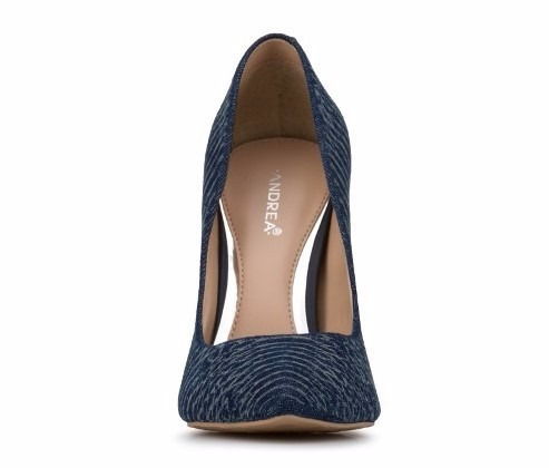zapatillas andrea stilettos azul mezclilla 11cms 11079