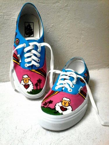 zapatillas artesanales, completamente personalizadas