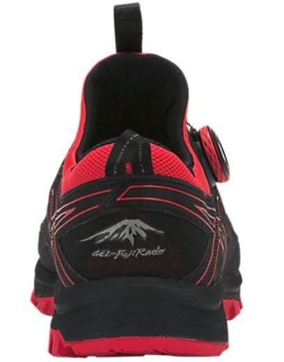 e2dfbfe63 Zapatillas Asics Fuji Rado Negro rojo Hombre Trail Running -   3.190 ...