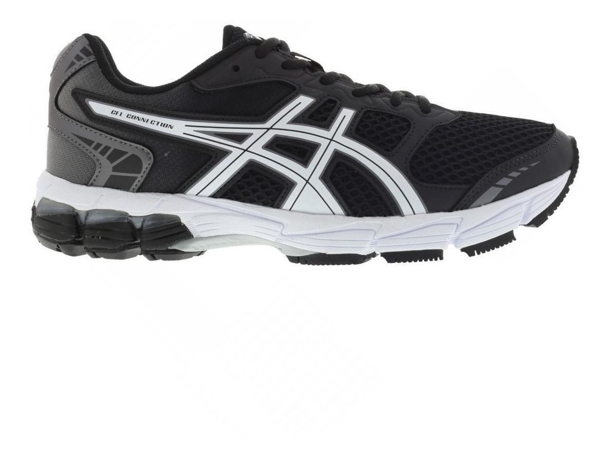 zapatillas hombre asics negras