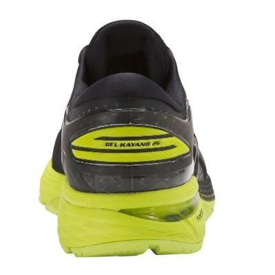 buy online 9f26c 87332 zapatillas asics gel kayano 25 negro amarillo hombre running