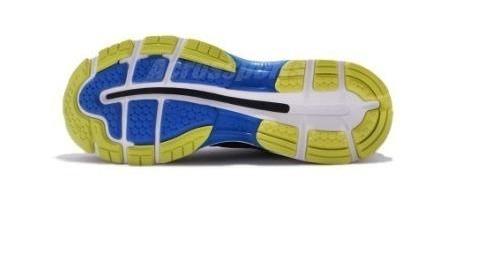zapatillas asics gel nimbus 20 azul/amarillo hombre running