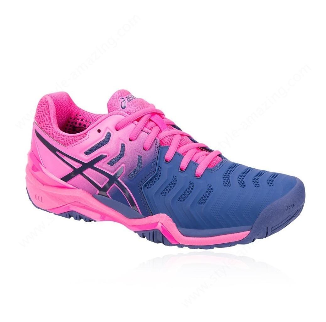 Pádel Negro Asics Zapatillas de tenispádel de Gel Solution Speed 3 Clay Asics Mujer NegroRosa > Ceip Joseplata