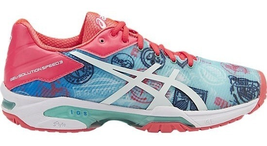 Tenispadel Gel Speed Asics Solution Mujer Paris Zapatillas lFJ1cK