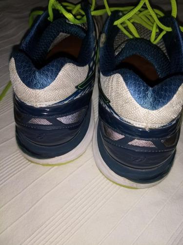zapatillas asics  n 45  excelentes!!!gel nimbus 18-28,5 cm