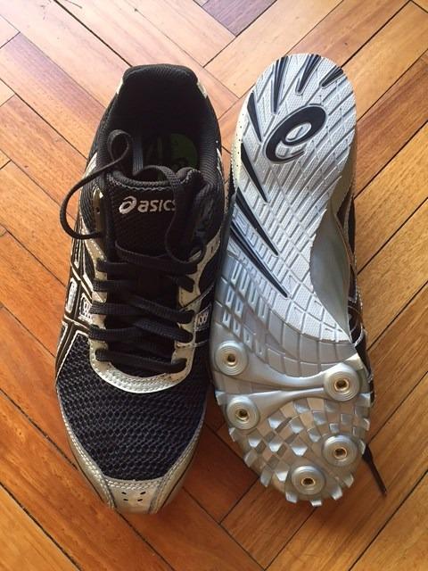 atletismo hombre zapatillas tacos asics