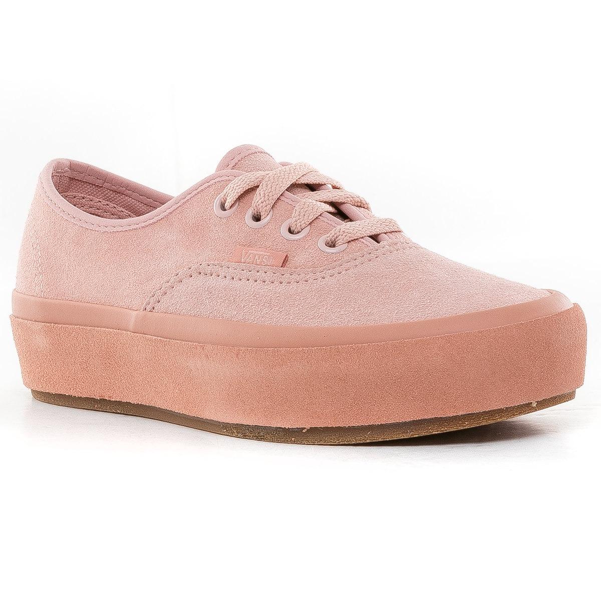zapatillas rosas vans