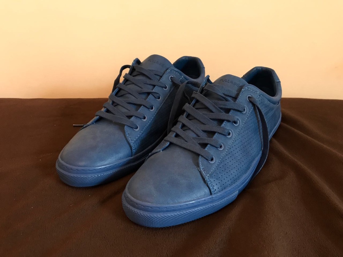 94468c9dd zapatillas azules pull and bear. Cargando zoom.