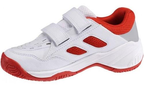 zapatillas babolat drive 2 kid color blanco , niños
