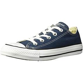 Zapatillas Bajas Con Cordones All Star Canvas De Converse