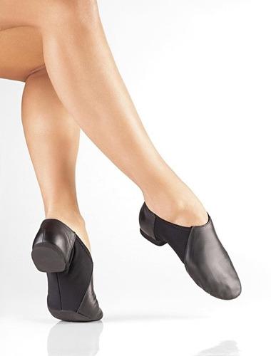 zapatillas ballet jazz cuero so dança profesionales 33 a 40