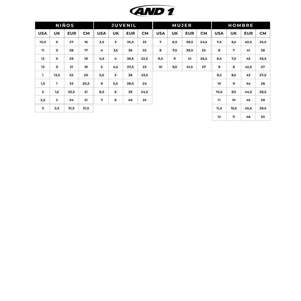 8a335d22c68 Zapatillas Basketball Hombre And1 Mad Range Gris-1554 -   27.990 en ...