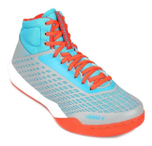zapatillas basquet and1 modelo ascender ultima unidad 11us