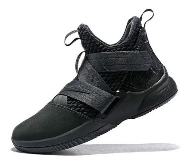 Zapatillas Basquet 2018 Nike Negras Lebron trdBChsQxo