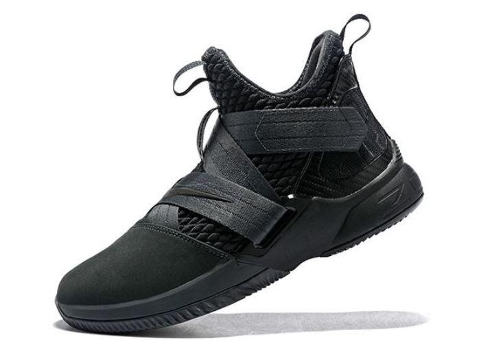 fc4b672535775 Zapatillas Basquet Nike Lebron Negras 2018 -   6.499