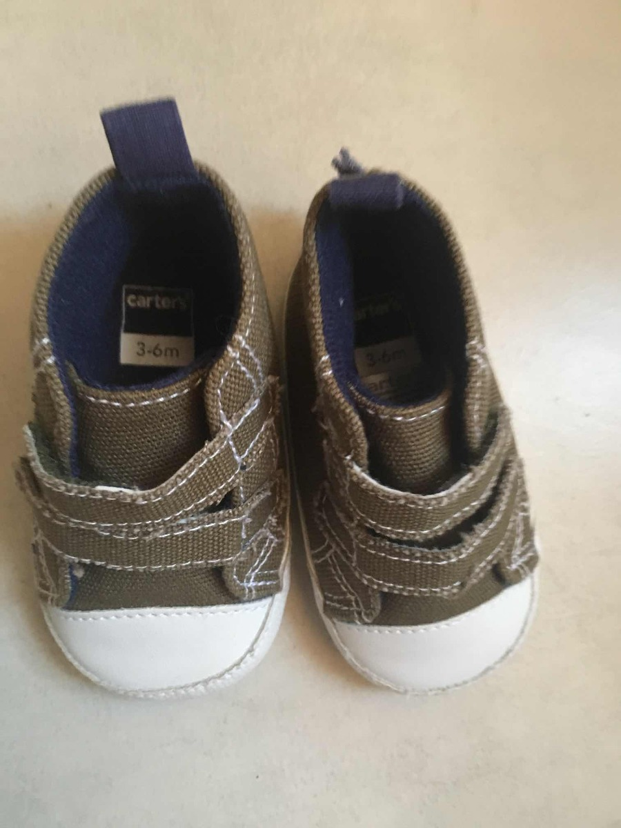 8fc3d5e53 zapatillas bebé carters no caminante 3-6 meses como nuevas. Cargando zoom.