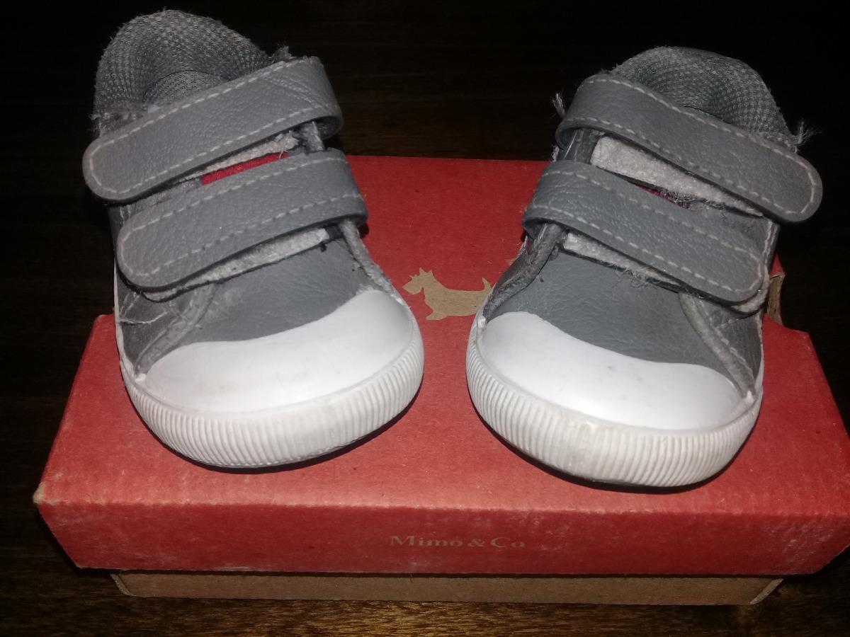 4d4e3d8ddf4 zapatillas bebé mimo talle 19 cuero gris. Cargando zoom.