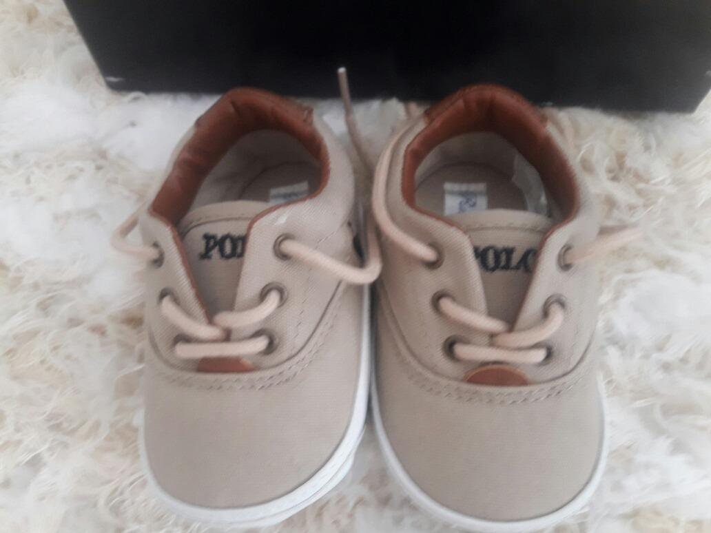 6629563f91e zapatillas bebe polo ralph lauren 2 pares de 3 a 6 meses. Cargando zoom.