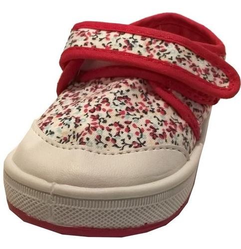 zapatillas bebes niñas caminantes  marca pampero mod cami