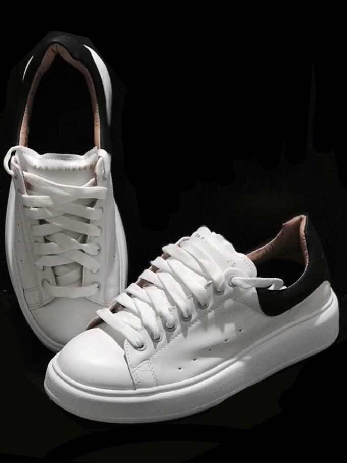 2019 mejor venta venta oficial nueva selección Zapatillas Blancas Cuero Hombre Urbanas