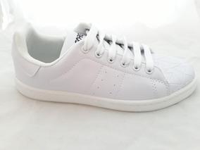 fbe1b4b0 Zapatillas Blancas Mujer Cuerina - Zapatillas en Mercado Libre Argentina