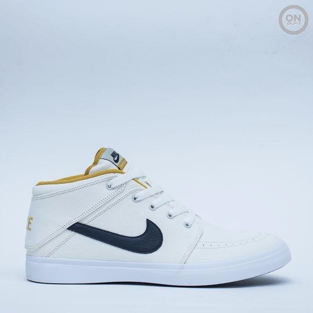 premium selection 048d1 70212 zapatillas blancas nike suketo mid canvas originales!