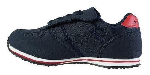 zapatillas bolivar azul niños le coq sportif