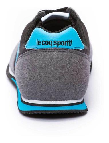 zapatillas bolivar br nylon negro unisex le coq sportif