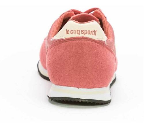 zapatillas bolivar br nylon rosa unisex le coq sportif