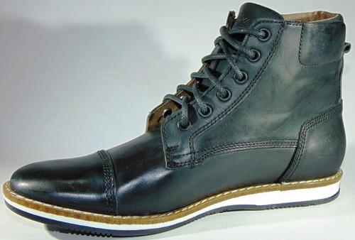 zapatillas bota cuero 100% vacuno stone art 1578