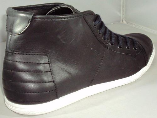 zapatillas bota urbana stone cuero 100%vacuno precio off !!!