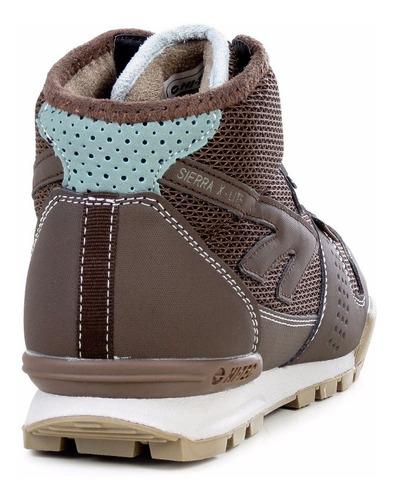 zapatillas botas hi tec sierra x-lite mujer trekking outdoor