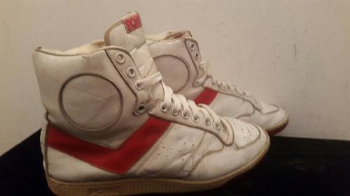 zapatillas botas pony basket retro vintage