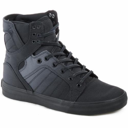 zapatillas botas supra skytop lona hombre urbanas importadas