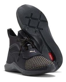 zapatillas pumas negras mujer
