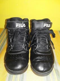 9053b0c160 Zapatillas Fila Botitas Negras - Ropa y Accesorios en Mercado Libre ...
