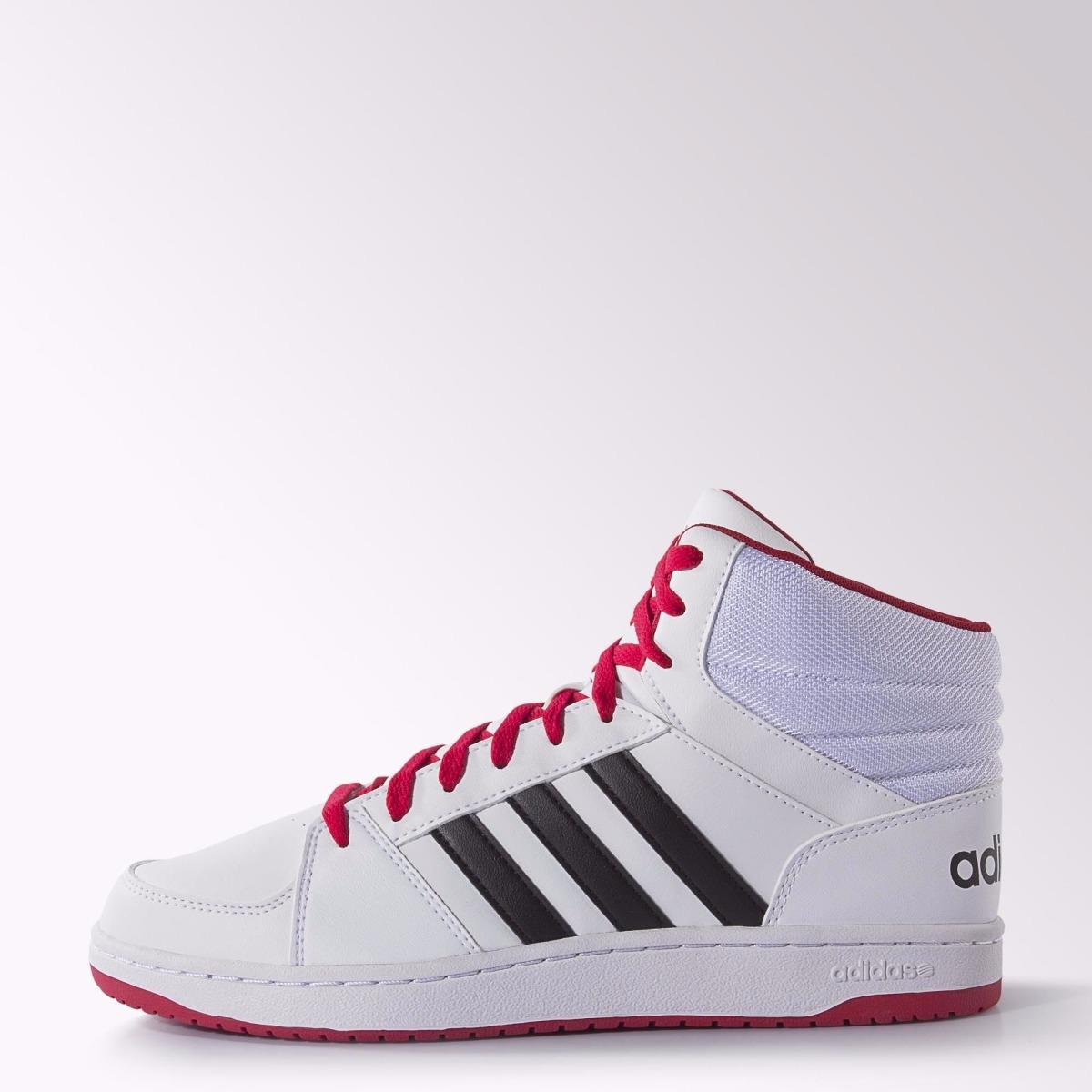 001ef769894fe ... best price zapatillas botitas adidas neo hoops vs mid blanco c rojo.  cargando zoom.