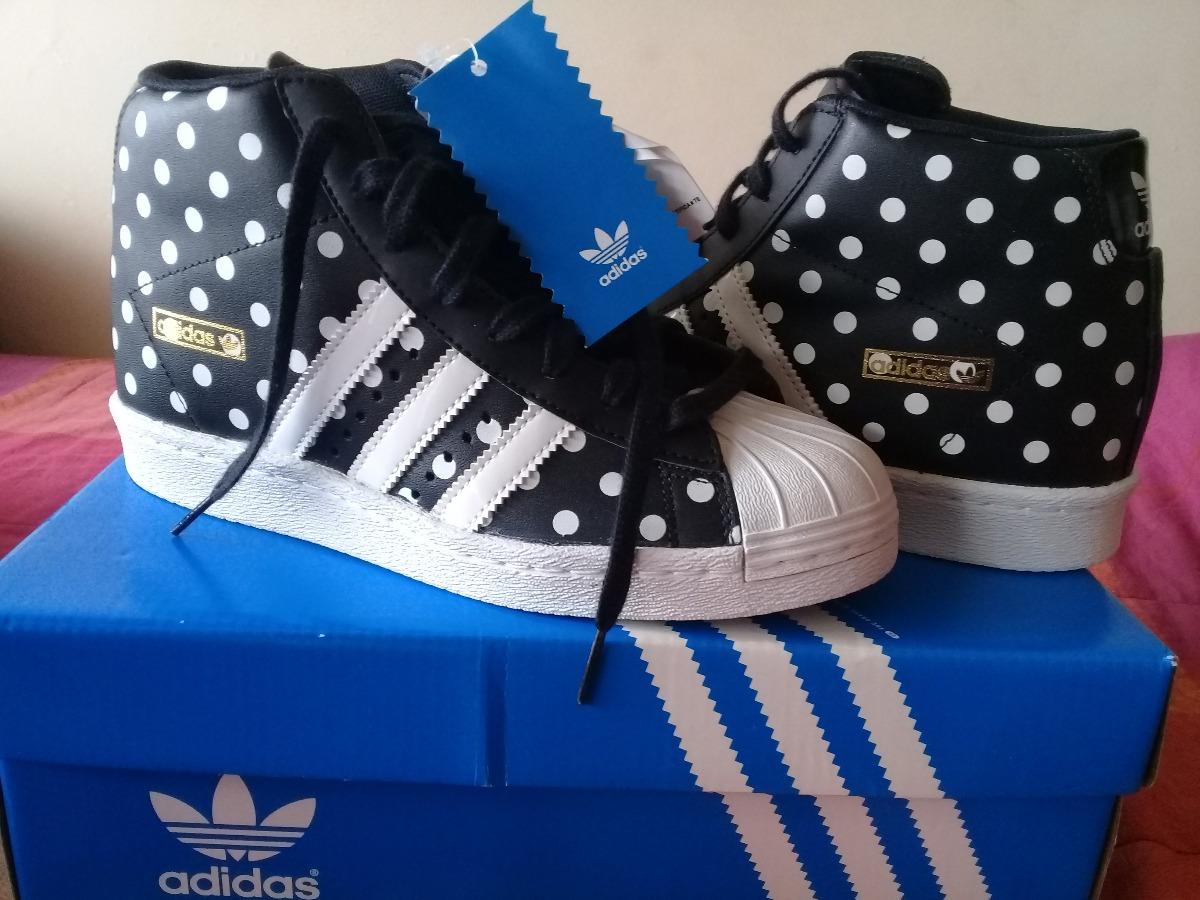 zapatillas botitas adidas superstar up w negra c lunares n37. Cargando zoom. 809a2a1153cd1