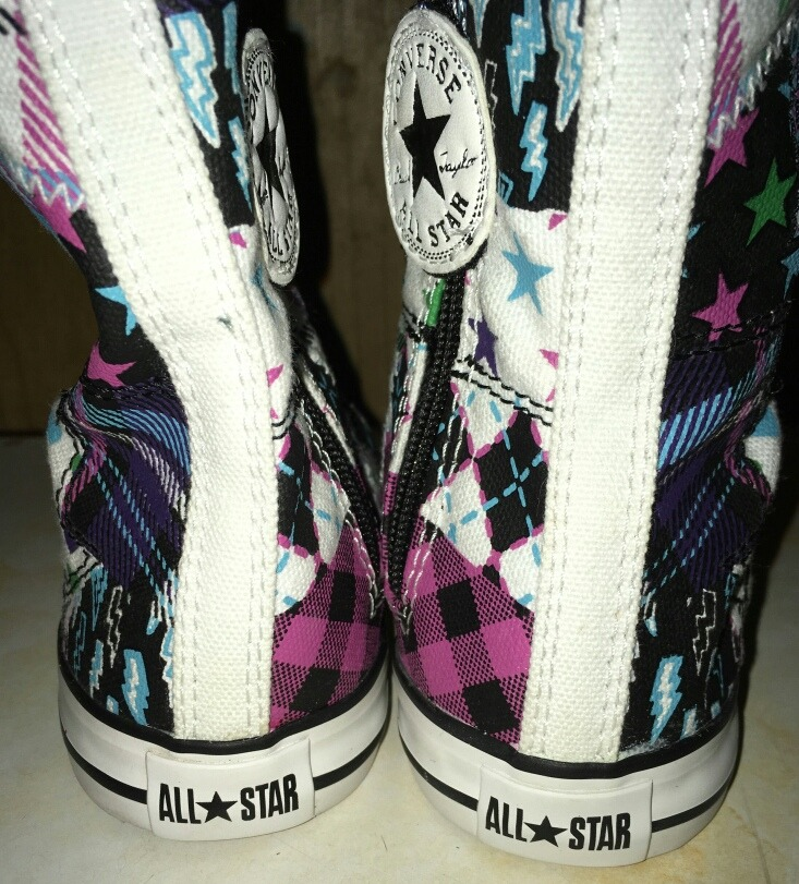 Zapatillas Botitas Altas Converse All Star Importadas N 24