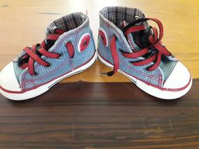 45983eb63 Zapatillas Originales Converse All Stars Niño O Niña Velcro - Ropa y ...