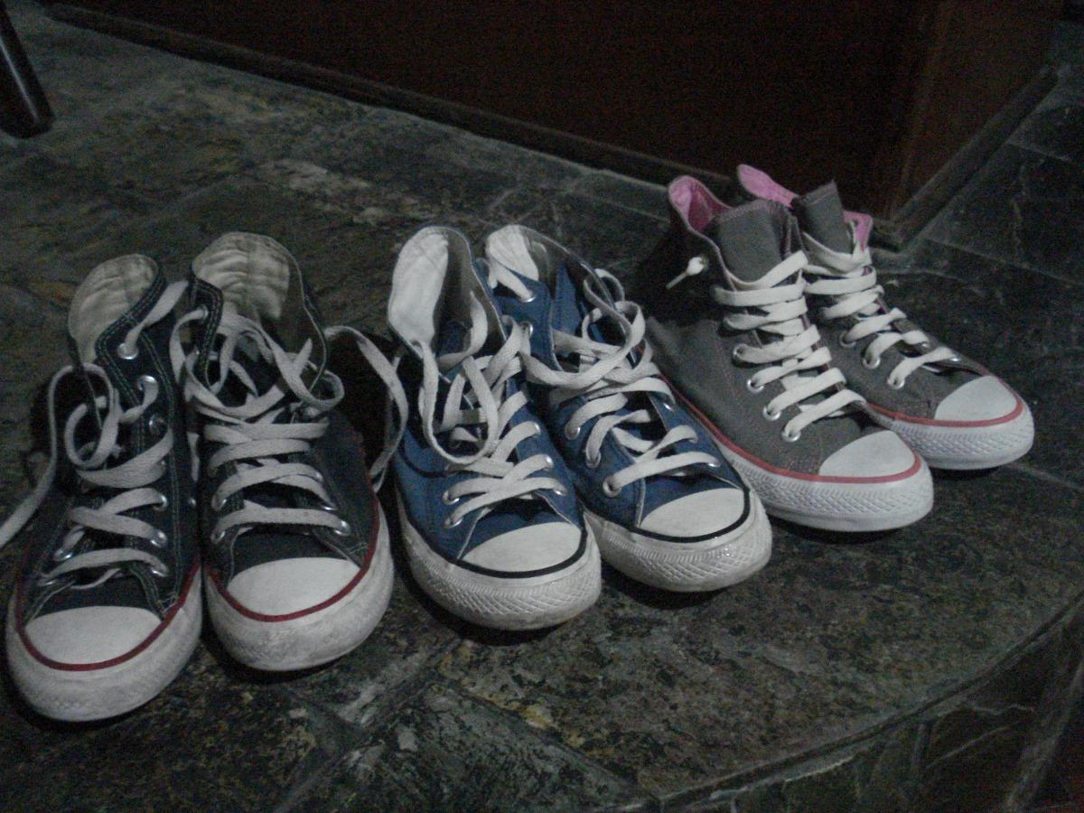 Zapatillas Botitas Converse All Star Talle 37 Varios Colores $ 750,00
