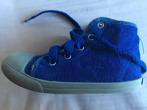 zapatillas botitas de gamuza minimimo nro 24