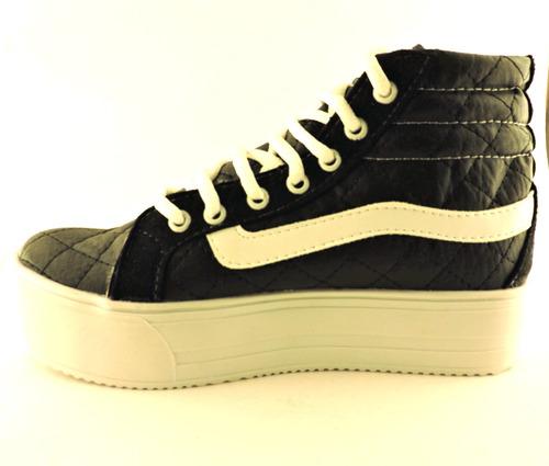 zapatillas botitas liquidación plataformas panchas oferta