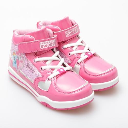 zapatillas botitas my little pony footy con luz