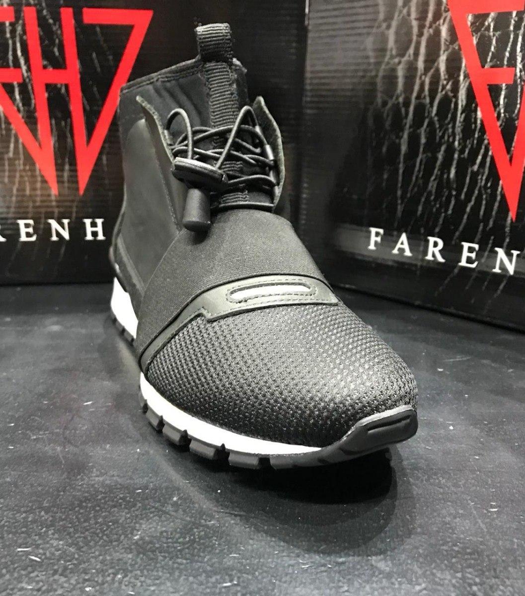 425f5c3a711 zapatillas botitas negras con neoprene hombre farenheite. Cargando zoom.