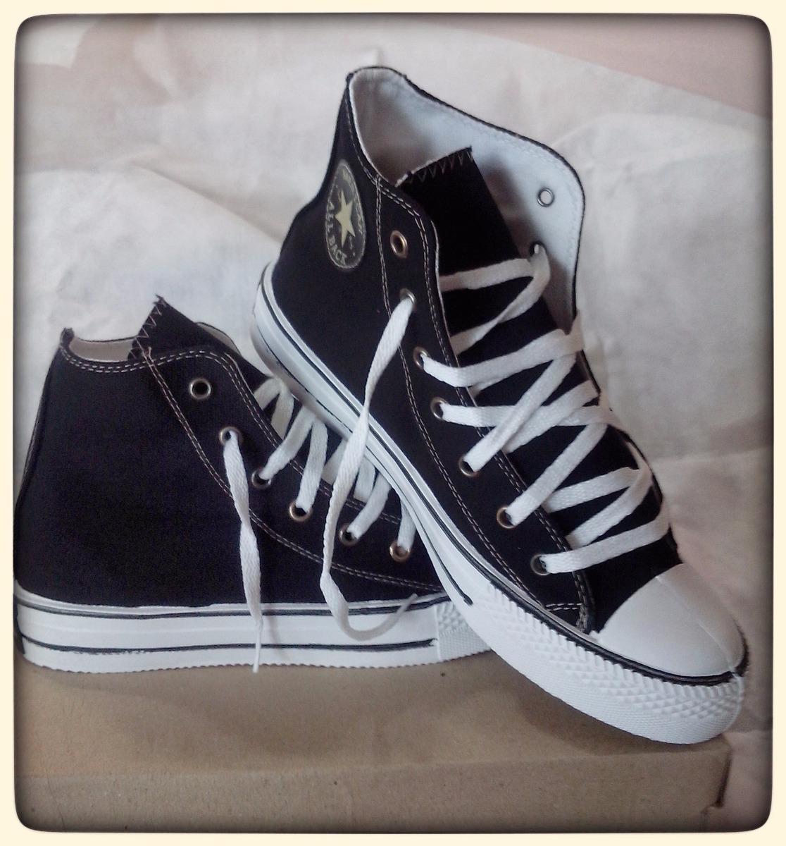... 350293e800 zapatillas botitas negras lisas de lona. Cargando zoom. 1c5838f3f1168