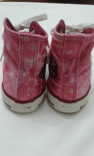 zapatillas botitas nena converse all star t 30