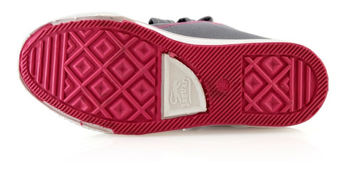 zapatillas botitas niñas abrojos jaguar 324-64 luminares